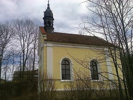 Kaple v Dlouhé Stropnici, postavená v roce 1901