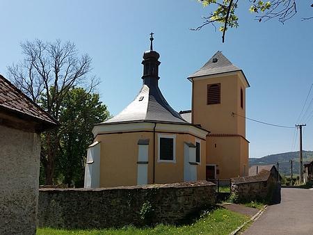 Kostel sv. Mikuláše v Dešenicích