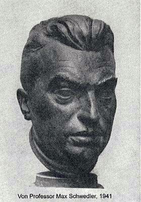 Bysta od Maxe Schwedlera z roku 1941
