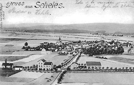 Stará pohlednice ze Žihle