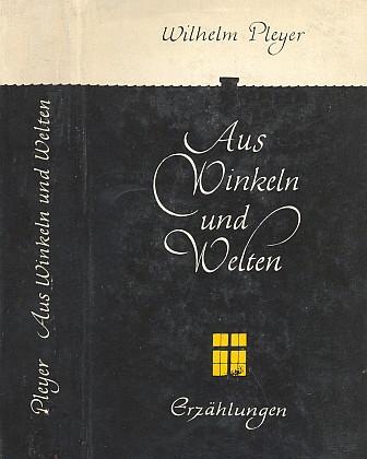 Obálka (1962), jejíž autorkou je Helga Pleyerová, knihy vydané v Mnichově (Bogen-Verlag)