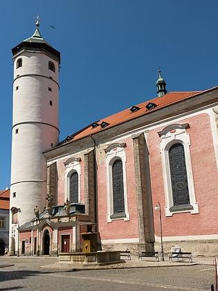 Farní kostel Narození Panny Marie v Domažlicích