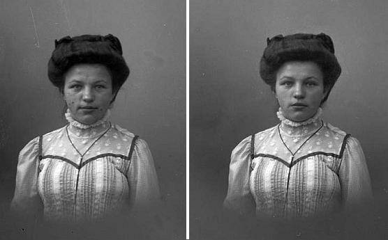 Na dvou snímcích z fotoateliéru Seidel, datovaném 8. května 1910, je takto zachycena Marie Tucho, později provdaná Wolfová a ještě později Zottlová, poslední vlastnice Madony krumlovské (viz i Richard Ernst)