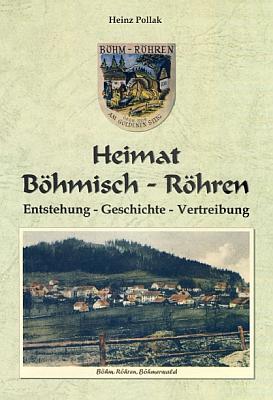Obálka (2009) jeho ve Waldkirchenu vydané knihy oČeských Žlebech