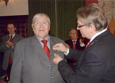 Jmenován ve svých 83 letech čestným občanem města Zwiesel