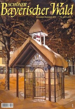 """Skleněná kaple ve Zwieselu na obálce """"jeho"""" časopisu, který nyní rediguje Pongratzova dcera Eva"""