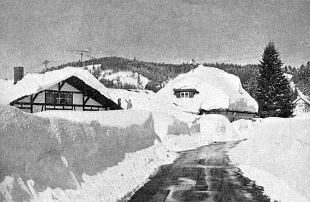 Buchenau v zimě roku 1969 na jeho snímku
