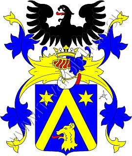 Erb nobilitovaného rodu Popperů