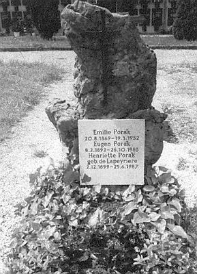 Hrob Eugena Poráka v Bad Ischl