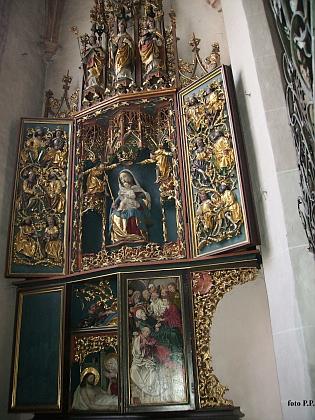 Gotický kostel sv. Štěpána v Braunau am Inn