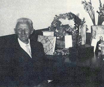Jeho otec Karl Pranghofer o svých devadesátinách