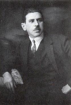 """Richard Bernaschek, vedoucí sociálně demokratického """"Schutzbundu"""""""