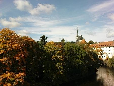 Podzimní Český Krumlov v roce 2010