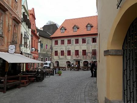 Českokrumlovské náměstí Na Louži