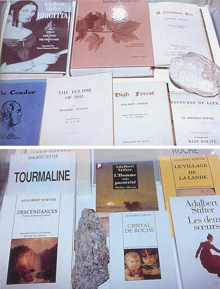 """Některá z vydání Stifterových děl v angličtině a francouzštině svědčí o jejich světovém ohlasu (Pozdní léto se v anglickém překladu, zveřejněném v roce 2006, jmenuje Indian Summer, tj. """"Indiánské léto""""!)"""