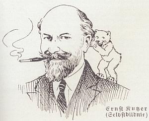 Friedrich Jaksch věnoval ve svém lexikonu sudetoněmeckých autorů z roku 1929 otci, tehdy učiteli pomocné školy vLiberci, poměrně rozsáhléheslo