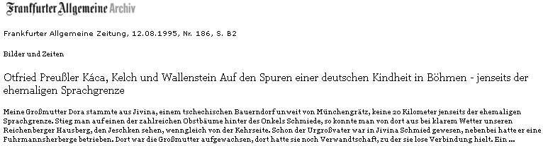 Tady se vnuk rozpomíná na babičku Doru Jirešovou, jejíž otec byl v Jivině u Mnichova Hradiště kovářem     - když se za kovárnou vylezlo na strom, bylo vidět za jasného počasí Ještěd
