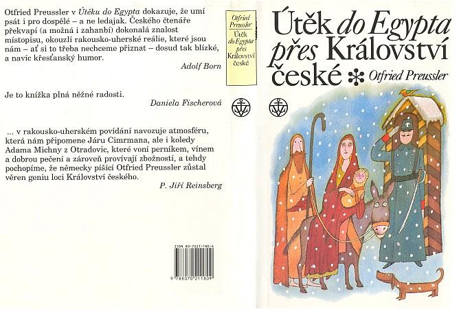 Obálka (1996) českého vydání jeho knihy v nakladatelství Vyšehrad, ilustrovaného sice Adolfem Bornem     zČeských Velenic, k naší lítosti se však Šumavy netýkajícího děje