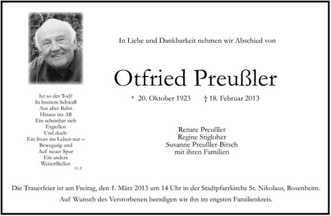 Otfried Preussler