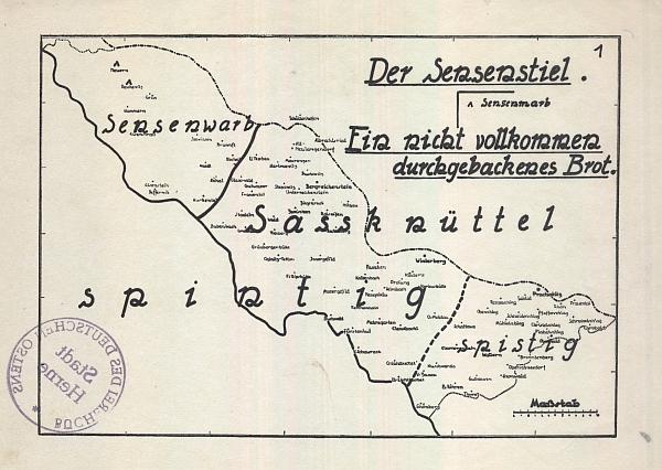 Dvě mapy z příloh knihy