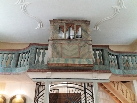 Obnovené varhany v dobrovodském kostele
