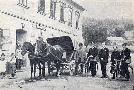 Do Rychnůvku přijela pošta z Horní Vltavice
