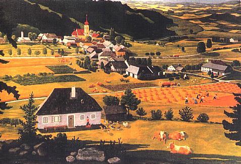Malířská vzpomínka Friedricha Bayera (1950)
