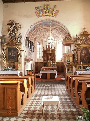 Poběžovický kostel Nanebevzetí Panny Marie