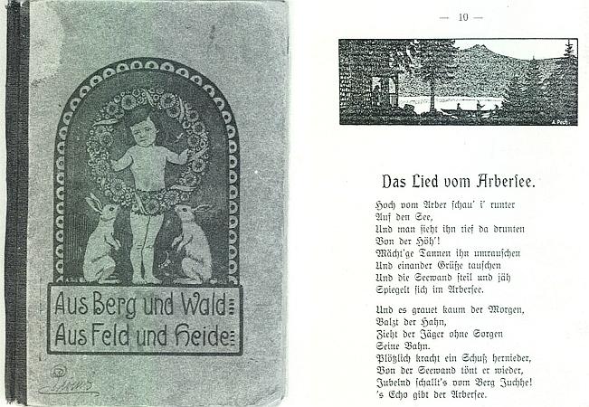 Obálku i ilustrace k jeho knize (1913) vytvořil Anton Pech (viz i Julius Blechinger)