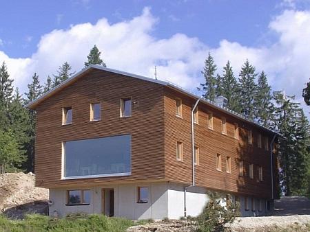 Nová podoba chaty na Falkensteinu (2019)