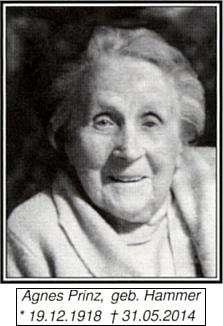 Její maminka s daty narození a úmrtí na snímku, doprovázejícím dceřin text na stránkách krajanského měsíčníku