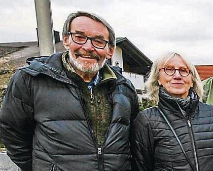 S manželem Reinhardem Michlem