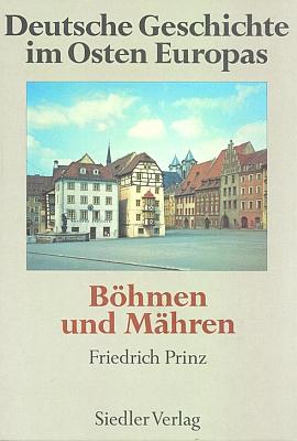 Obálka knihy (Siedler Verlag, Berlín, 1993) o dějinách Němců vČechách a na Moravě, jejímž editorem byl její syn
