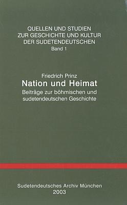 Obálka jiné synovy publikace k dějinám Němců vČechách a na Moravě, vydané v roce jeho úmrtí (Sudetendeutsches Archiv, Mnichov, 2003)