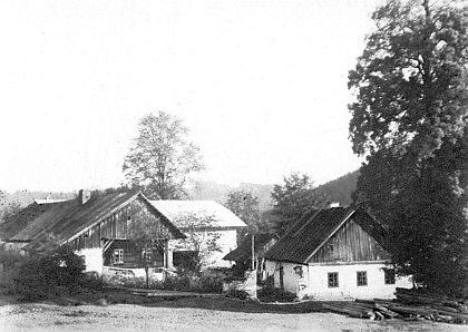 Rodný Engelhof v Radešově
