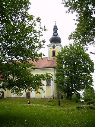 Poutní místo Maria Schnee na Svatém Kameni