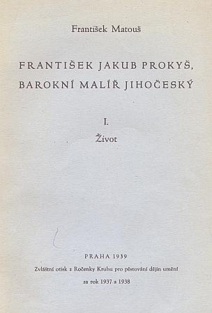 Obálka (1939) jeho životopisu