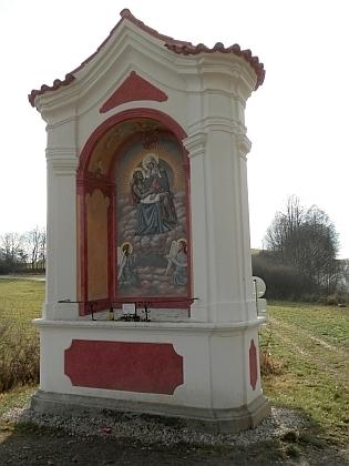 Byl autorem maleb v šesti výklenkových kaplích na Křížové hoře nad Českým Krumlovem