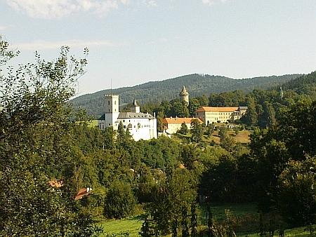 Hrad v Rožmberku nad Vltavou