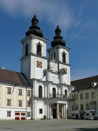 Klášterní kostel v Kremsmünsteru