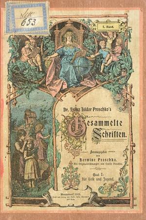 První díl (1901) jeho sebraných spisů, které redigovala dcera Hermine...
