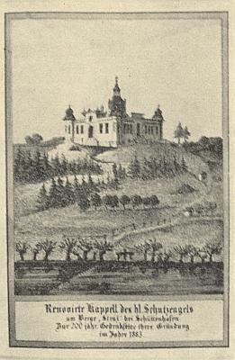 Tisk vydaný (1883) ke 200. výročí založení kaple Andělů strážců v Sušici