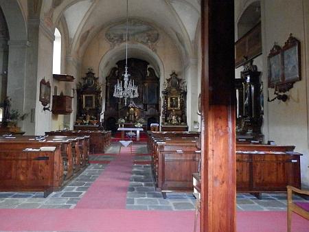 Kostel sv. Felixe při kapucínském klášteře v Sušici