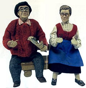 ... figurky manželů Pscheidlových ještě jednou v detailu
