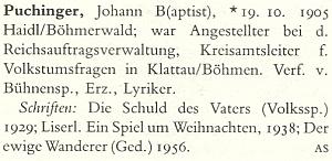 I jeho heslu v německém literárním slovníku chybí přesné datum úmrtí
