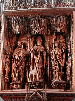 Křídlový oltář v Kefermarktu