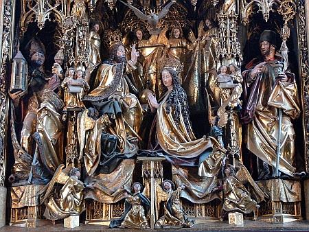 Pacherův oltář v Sankt Wolfgangu