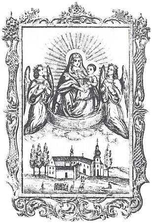 Starší poutní tisky ze Svatého Kamene, jak je uchovává také muzeum vhornorakouském Freistadtu