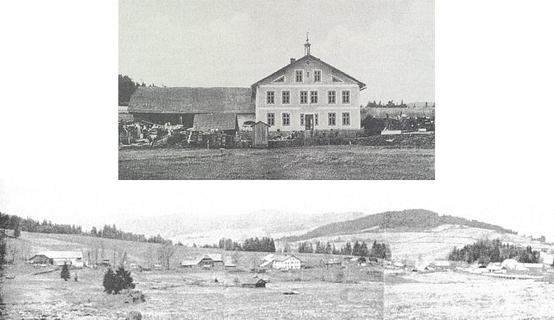 Dům rodiny Johanna Selbitschky v Polce, kde se narodila