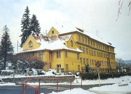 Někdejší německý učitelský ústav v Prachaticích